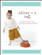 Lunchbox Tee and Culottes - Oliver And S Sewing Pattern